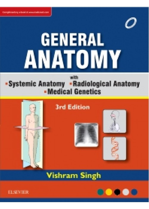 GENERAL ANATOMY Along with Systemic Anatomy Radiological Anatomy Medical Genetics