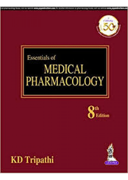Essentials of Medical Pharmacology KD Tripathi