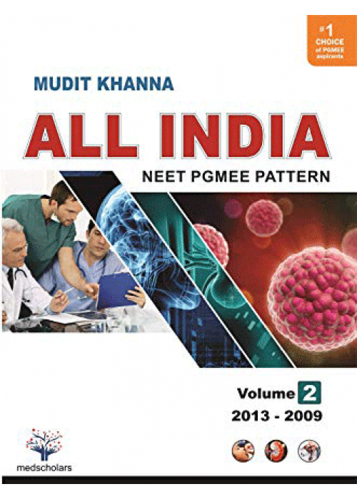 All India NEET Pgmee pattern Volume-2 ( 2013-2009 )