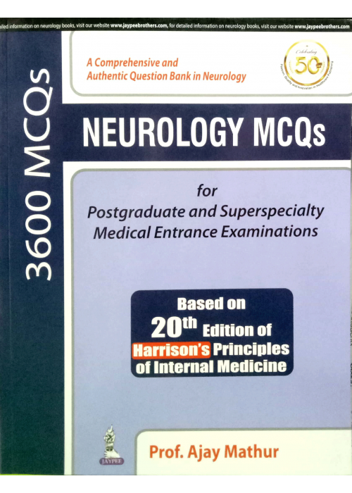 Neurology MCQs ( 3600 MCQs ) - Ajay Mathur