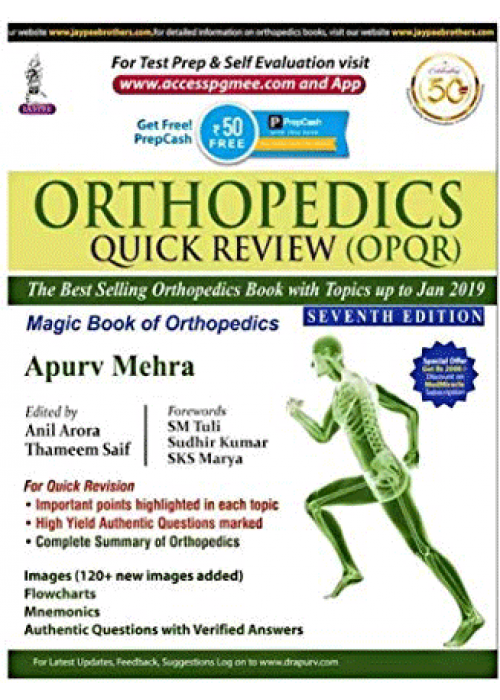 Orthopedics Quick Review