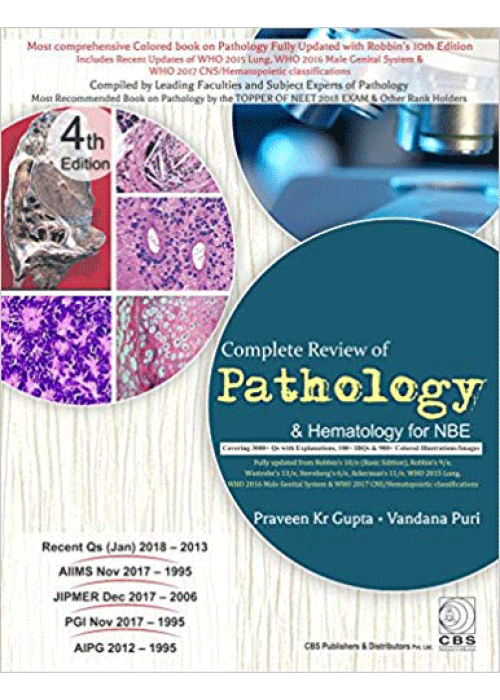 Complete Review of Pathology and Haematology for NBE