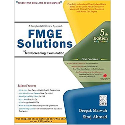 A COMPLETE NBE CENTRIC APPROACH FMGE SOLUTIONS FOR MCI SCREENING EXAMINATION