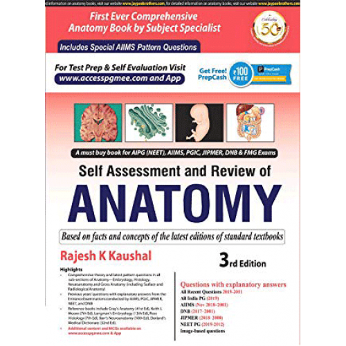 Self Assessment And Review Of Anatomy