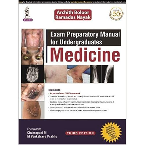 Exam Preparatory Manual for Undergraduates: Medicine