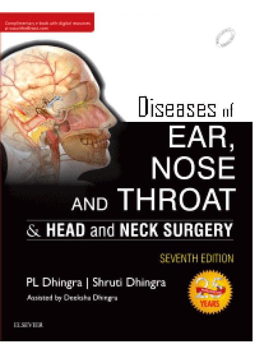 Diseases of Ear, Nose and Throat-Dhingra