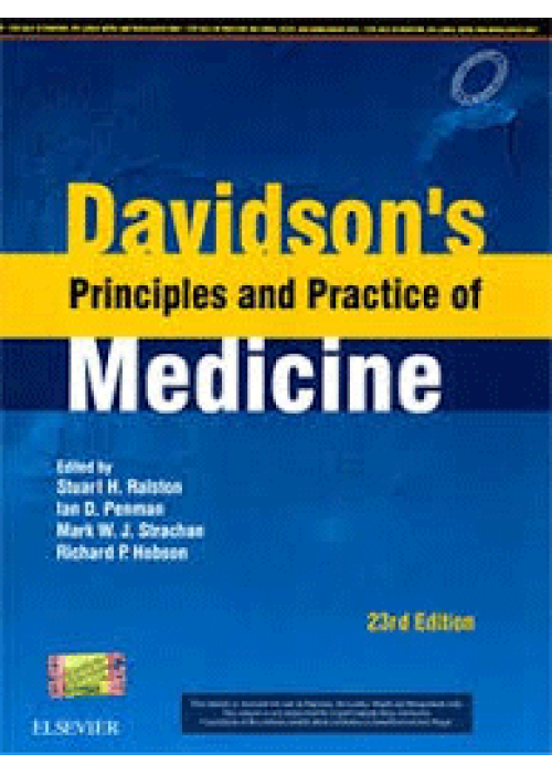 Davidson's Principles and Practice of Medicine  ( South Asian Edition )