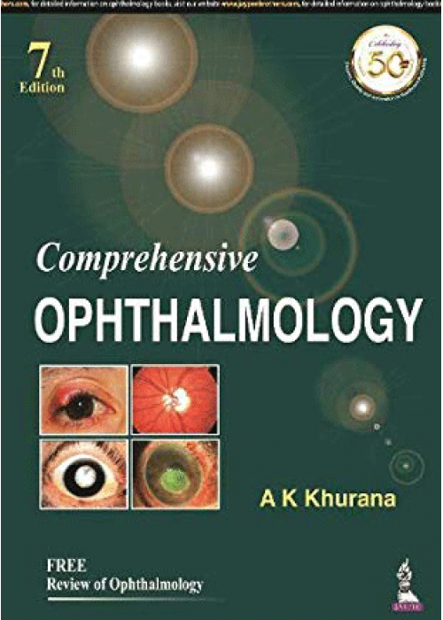 Comprehensive Ophthalmology - AK Khurana