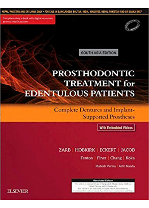 Prosthodontic  Treatment for Edentulous Patients