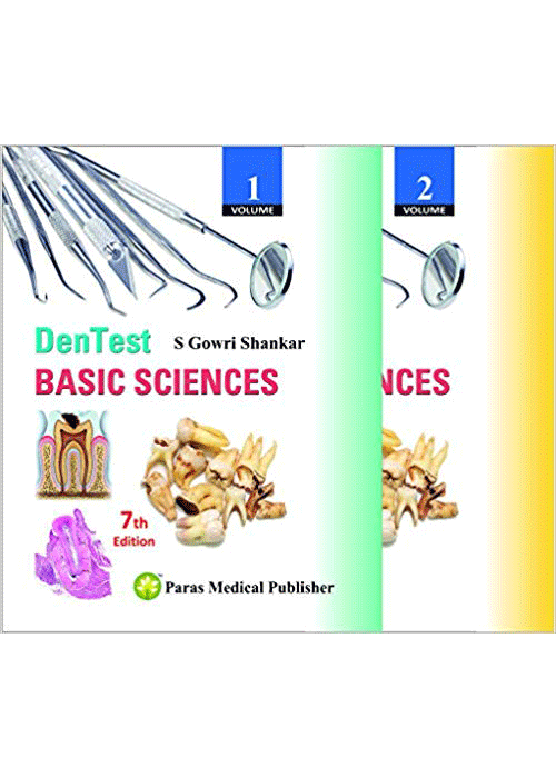DenTest Basic Sciences ( 2 vol set)