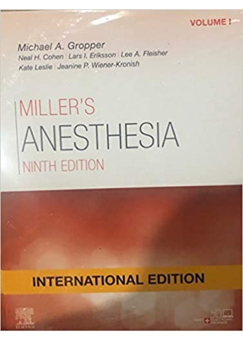 Miller's Anesthesia ( 2 Vol Set)