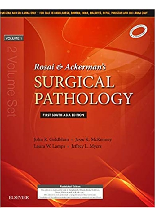Rosai & Ackerman's Surgical Pathology 2 Volume Set: First South Asia Edition