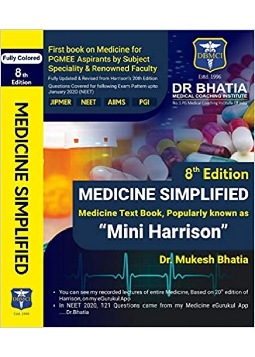 MEDICINE SIMPLIFIED BY DR. MUKESH BHATIA