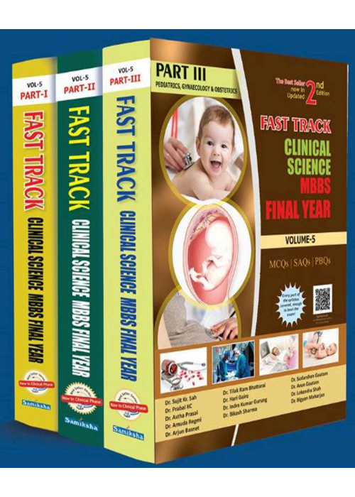 Fast Track Clinical Science MBBS Final year Vol -5