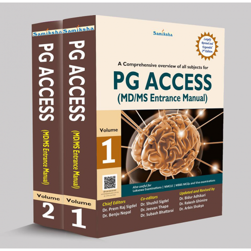 A Comprehensive overview of all subjects for PG ACCESS (MD/MS Entrance Manual)