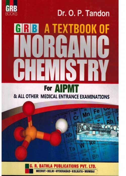 GRB INORGANIC CHEMISTRY FOR AIPMT
