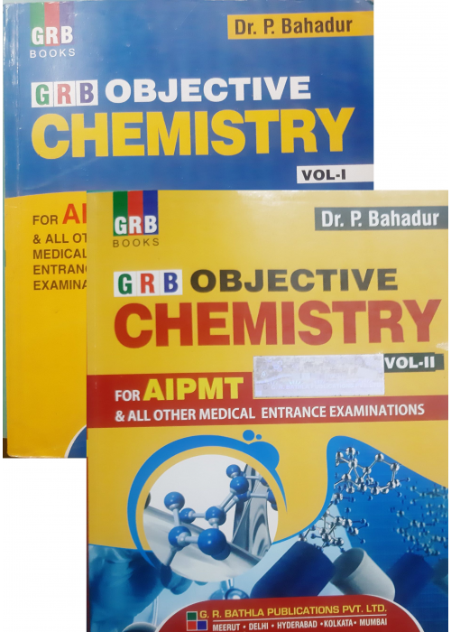 GRB Objective chemistry for AIPMT Vol-I,II
