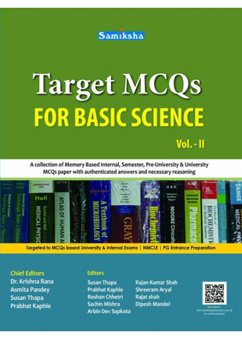 TARGET MCQs for BASIC SCIENCE VOL. II
