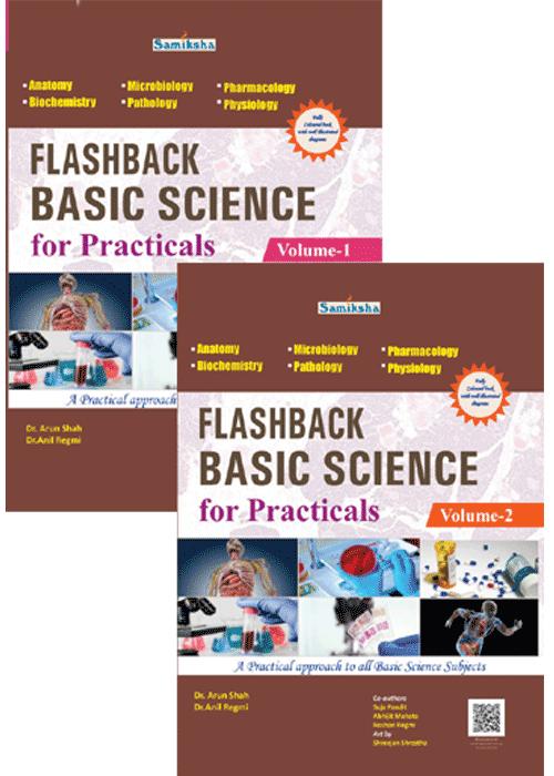 Flashback Basic Science For Practicals Vol-I &II