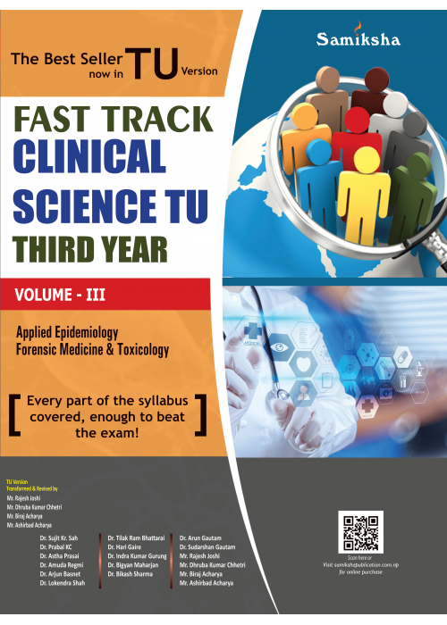 Fast Track Clinical Science TU Third year (TU FT Vol-III)