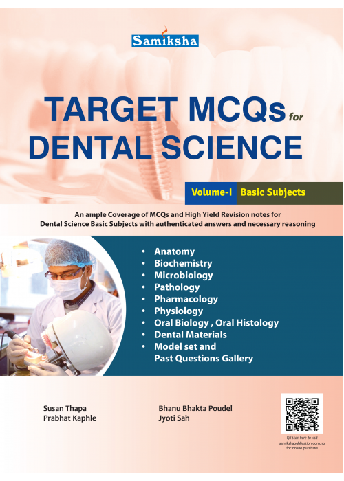 Target MCQs for Dental Science Vol.-I, Basic Subjects