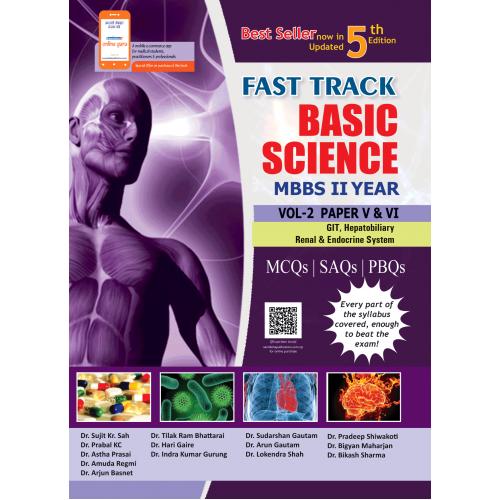 FAST TRACK BASIC SCIENCE MBBS VOL. II