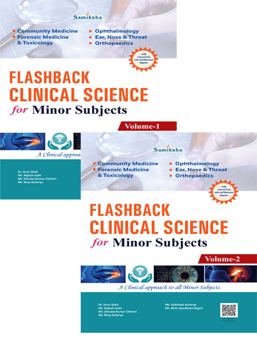 Flashback Clinical Science for Minor Subjects VOL-I,II