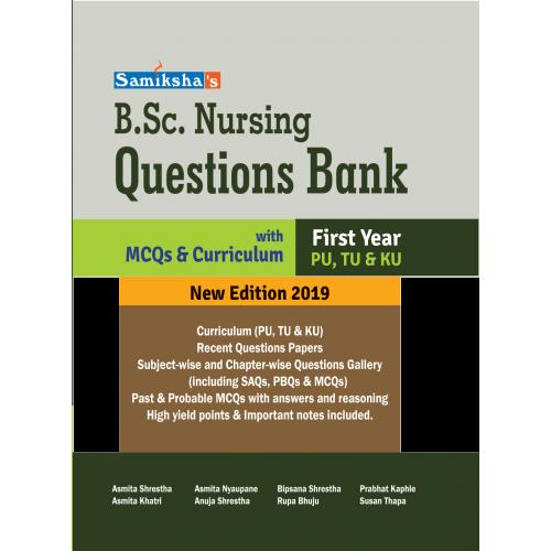 B.Sc. NURSING QUESTION BANK- FIRST YEAR