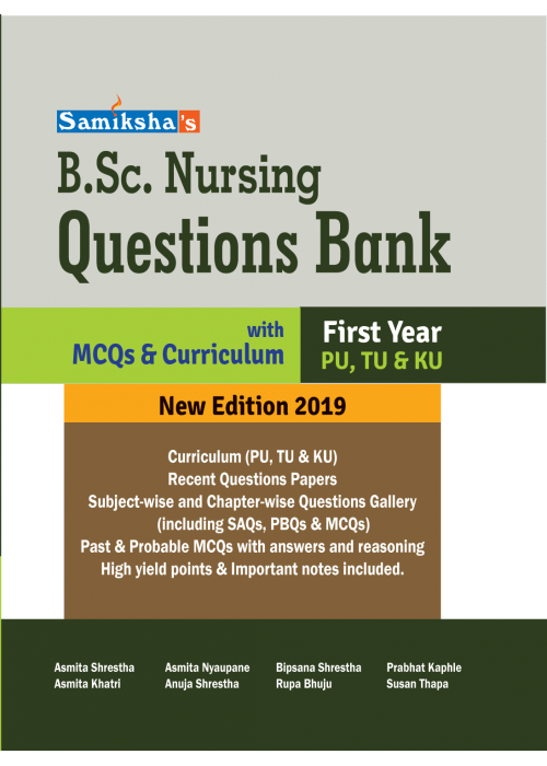 B.Sc. NURSING QUESTION BANK- FIRST YEAR
