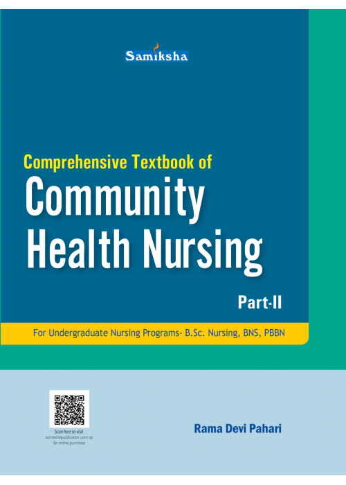Comprehensive Textbook of Community Health Nursing II