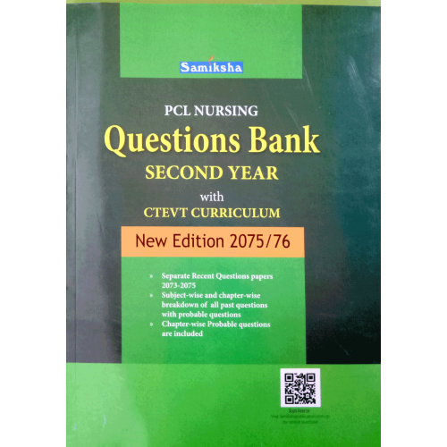PCL Nursing Questions Bank Second Year with CTEVT Curriculum
