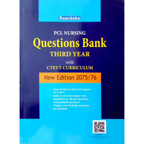 PCL Nursing Questions Bank Third Year with CTEVT Curriculum