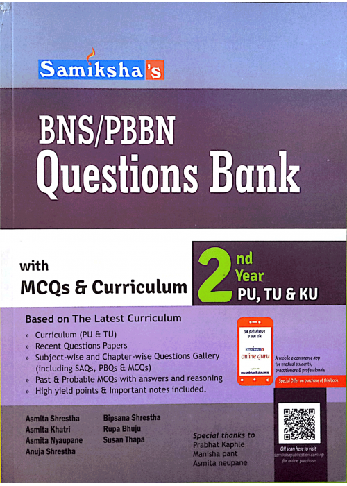 BNS/PBBN Questions Bank- Second Year