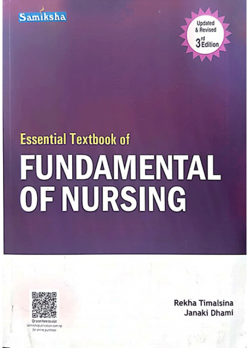Essential Textbook of Fundamental of Nursing