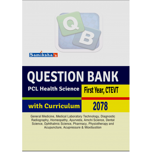 Questions Bank PCL Health Science (First Year )