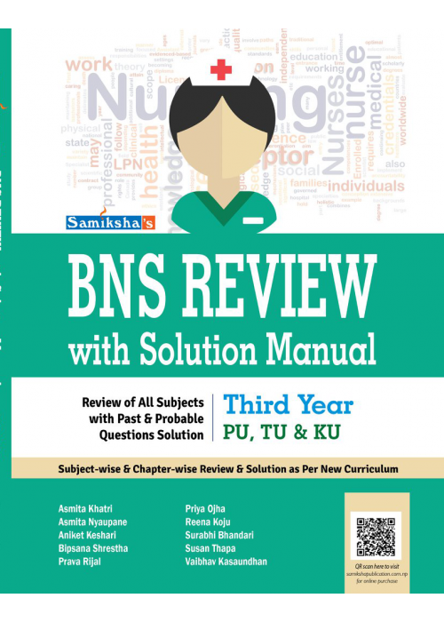 BNS Review with solution Manual - Third Year