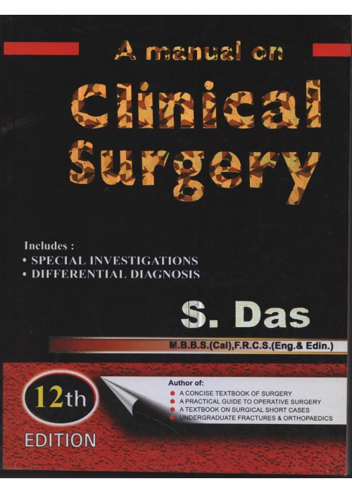 Clinical science mbbsbds a manual on clinical surgery fandeluxe Gallery