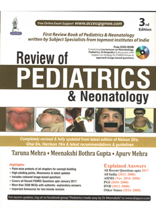 Review of Pediatrics and Neonatology (3rd Edition)