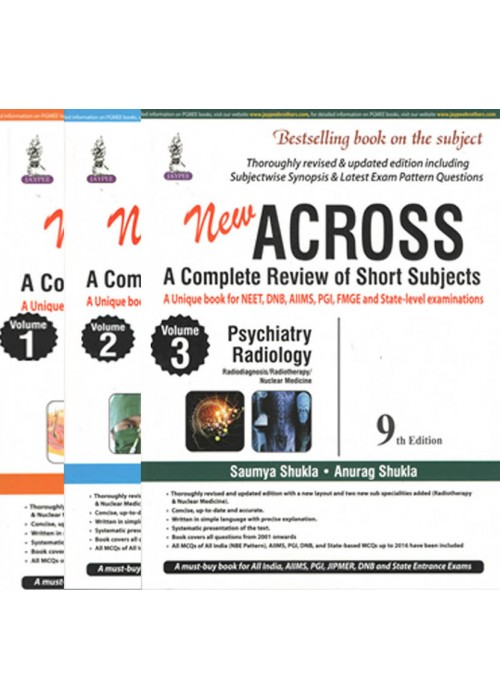 Across ( A complete review of short subjects ) - Vol 1,2 & 3