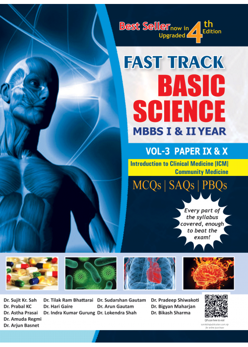 Fast Track Basic Science MBBS Volume-III