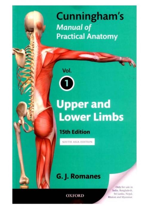 Cunninggham's Manual of pratical anatomy