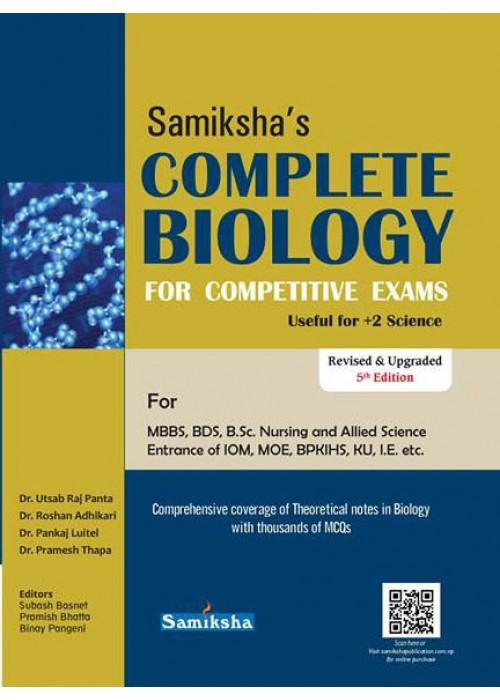 Samiksha's Complete Biology for Medical Entrance