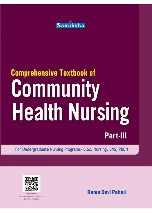 Comprehensive Textbook of Community Health Nursing III