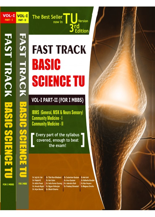 Fast Track Basic Science TU Vo-1,Part-I-II