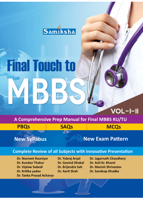 Final Touch to MBBS Vol I & II