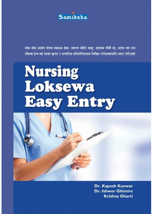 Nursing Loksewa Easy Entry