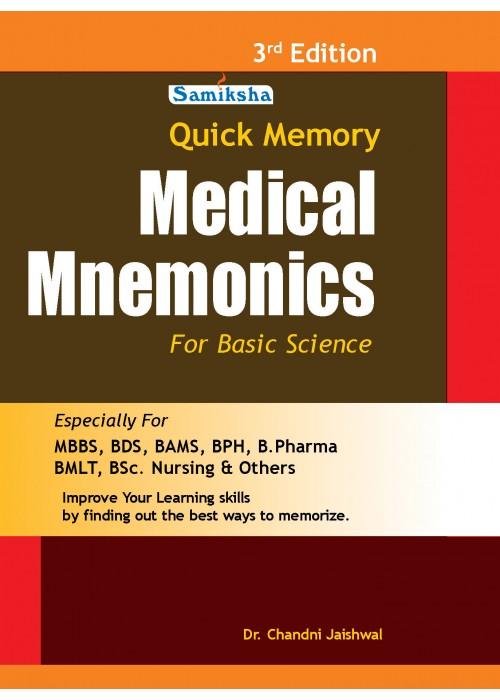 Quick Memory of Medical Mnemonics