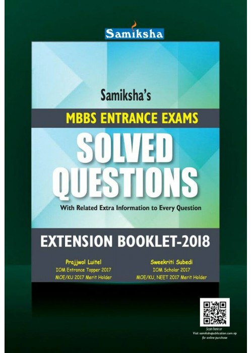 Solved Question Extension Booklet