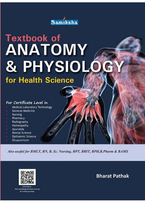 Textbook of Anatomy and physiology for health